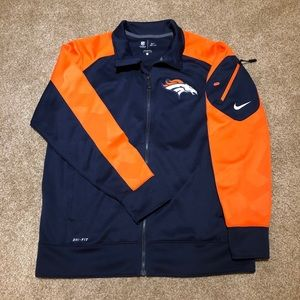 Denver Broncos NFL Nike Dri Fit On Field Jacket